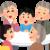 家族について グループのロゴ